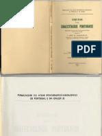J Leite de Vasconcelos - Esquisse d'Une Dialectologie Portugaise
