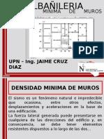 Clase 7 Semana N_03 Densidad Minima de Muros