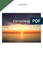 Elemente de Alchimie Spirituala (versiunea veche)