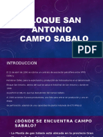 Bloque San Antonio Campos Sabalo