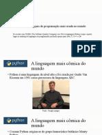 Python Presentation