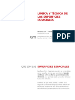 Superficies Espaciales 2016