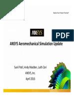ANSYS AeroMechanics Update SSP