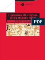 El pensamiento religioso de los antiguos mayas - Rivera Dorado, Miguel
