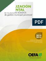 Fiscalización Ambiental 2015