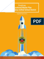 PUSD Educational Master Plan Road Map