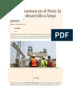 Infraestructura en El Perú