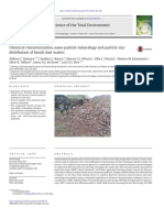Chemical Characterization, Nano-particle Mineralogy and Particle Size
