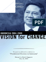 Susilo Bambang Yudhoyono-Indonesia 2004-2009_ Vision for Change-Brighten Press (2004)