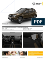Novo DUSTER_Série Limitada Dakar 2.0 16v 4x4 Manual 2016-2016