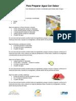 BANPAC water recipes SPN.pdf