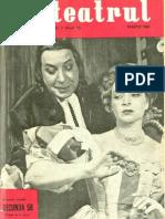 Revista Teatrul, nr. 3, anul V, martie 1960