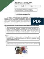Guía texto divulgación