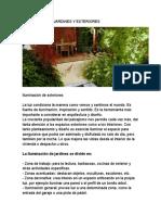 informe  paisajismo