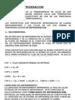 CICLOS REFRIGERACION