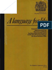 A Language for Life - Report of the Committee of Inquiry appointed by the Secretary of State for Education and Science under the Chairmanship of Sir Alan Bullock