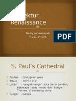 Arsitektur Renaissance.pptx Fattah