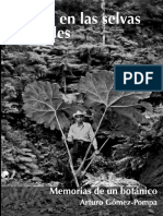 Memorias de un Botánico - Arturo Gomez - Pompa