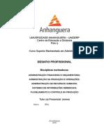 DESAFIO PROFISSIONAL 6º Periodo Academica Agropecuária