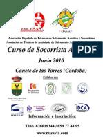 PROGRAMA CURSO SOS CAÑETE DE LAS TORRES  2010