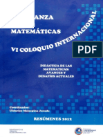 Resumen Coloquio 2012-1