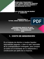 Presentación Sobre Conceptos Básicos Requeridos Para El Reconocimiento y Depreciación de Ppye