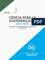 Ciencia Para La Sostenibilidad