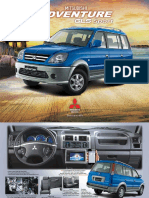 Brochure Mitsubishi Adventure GLS Sports