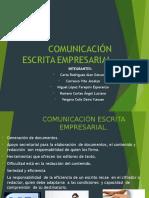 Comunicación Escrita Empresarial