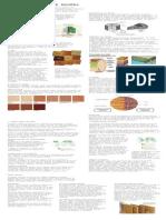 Laminas Trabajos madera, analisis , tartes tipos
