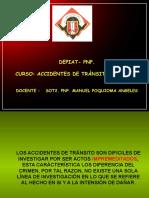 Accidente de Transito Con Fuga