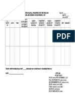 Notarial Book Entry Template
