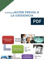 Evaluacion Previa a La Exodoncia