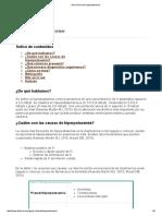 Guía Clínica de Hiperpotasemia