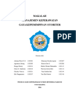 Kepemimpinan Otoriter Fix Print