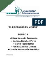 E4 S2 TE1 El Liderazgo en Mexico