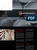 Special Piping Materials Brochure