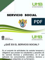 Presentacion Servicio Social