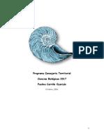 Programa CT Ciencias Biológicas-Paulina Carrillo Oyarzún