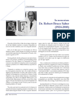 In memoriam Dr. Robert Bruce Salter (1924-2010)