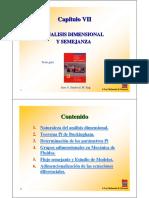 Ch05 Analisis Dimensional y Semejanza