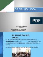 1. Plan de Salud Local