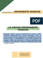 Cirugia Minimamente Invasiva Concepto Historia y Procedimientos Generales