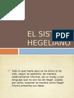 El Sistema Hegeliano