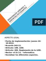BIENVENIDOS COMPAÑERAS Y COMPAÑEROS.pptx