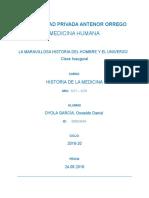 1ra Clase Historia de la Medicina
