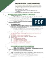 Seminar Week 9 Notes
