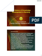 The History of Knowledge Development in Nursing_feb15