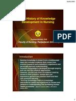 The History of Knowledge Development in Nursing_feb15