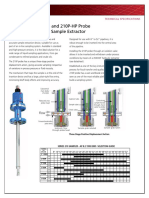 AD01314M JISKOOT 210P Probe and 210P-HP Probe in-Line Sampler Extractor Data Sheet
